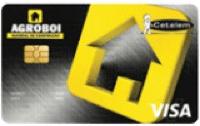 Logo Banco Cetelem Cartão Agroboi Visa