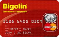 Logo Banco Cetelem Cartão Bigolin Mastercard
