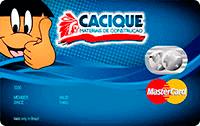 Logo Banco Cetelem Cartão Cacique Mastercard