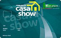 Logo Banco Cetelem Cartão Casa Show Mastercard
