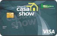 Logo Banco Cetelem Cartão Casa Show Visa