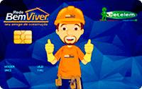 Logo Banco Cetelem Cartão Rede Bem Viver Visa