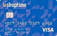 Logo Banco Cetelem Cartão Shoptime Visa