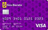 Logo Banco Cetelem Cartão Sou Barato Visa