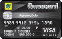 Logo Banco do Brasil Ourocard Agronegócio Infinite