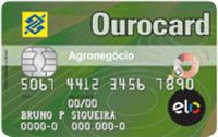 Logo Banco do Brasil Ourocard Agronegócio