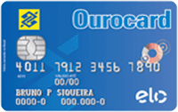 Logo Banco do Brasil Ourocard Básico