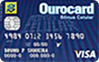Logo Banco do Brasil Ourocard Bônus Celular International