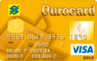 Logo Banco do Brasil Ourocard Gold Visa