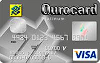 Logo Banco do Brasil Ourocard Platinum American Express