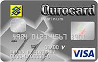 Logo Banco do Brasil Ourocard Platinum Visa