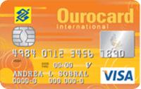 Logo Banco do Brasil Ourocard Universitário Internacional