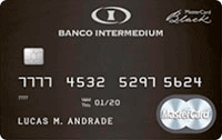 Logo Banco Inter Cartão Banco Inter Black