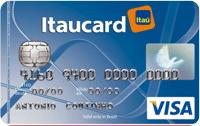 Logo Banco Itaú Cartão Básico Nacional Visa