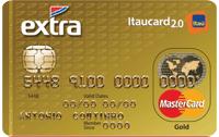 Logo Banco Itaú EXTRA Itaucard 2.0 Gold Mastercard