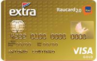 Logo Banco Itaú EXTRA Itaucard 2.0 Gold Visa