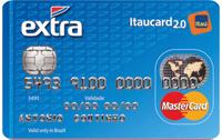 Logo Banco Itaú EXTRA Itaucard 2.0 Nacional Mastercard