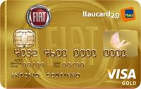 Logo Banco Itaú FIAT Itaucard 2.0 Gold Visa