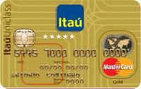 Logo Banco Itaú Itaú Uniclass Gold Mastercard