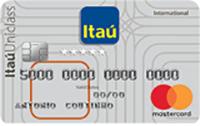 Logo Banco Itaú Itaú Uniclass Internacional Mastercard