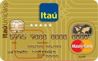 Logo Banco Itaú Itaú Uniclass Múltiplo Gold Mastercard