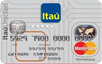 Logo Banco Itaú Itaú Uniclass Múltiplo Internacional Mastercard