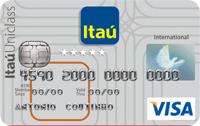 Logo Banco Itaú Itaú Uniclass Múltiplo Internacional Visa