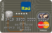 Logo Banco Itaú Itaú Uniclass Platinum Mastercard