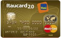 Logo Banco Itaú Itaucard 2.0 Gold Sempre Presente Mastercard