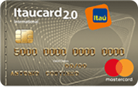 Logo Banco Itaú Itaucard 2.0 International Mastercard