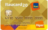 Logo Banco Itaú Itaucard 2.0 Nacional Hiper