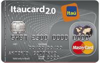 Logo Banco Itaú Itaucard 2.0 Nacional Mastercard