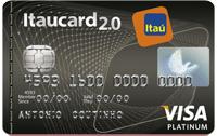 Logo Banco Itaú Itaucard 2.0 Platinum
