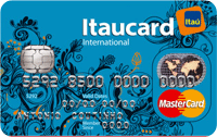 Logo Banco Itaú Itaucard Universitário | Azul Mastercard