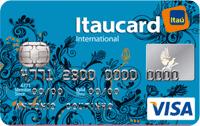 Logo Banco Itaú Itaucard Universitário | Azul Visa