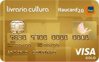 Logo Banco Itaú Livraria Cultura Itaucard 2.0 Gold