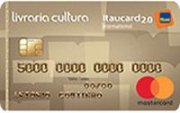 Logo Banco Itaú Livraria Cultura Itaucard 2.0 Internacional Mastercard