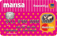 Logo Banco Itaú Marisa Itaucard 2.0 Nacional