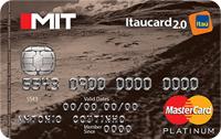 Logo Banco Itaú Mit Itaucard 2.0 Platinum Mastercard