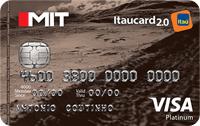 Logo Banco Itaú Mit Itaucard 2.0 Platinum Visa