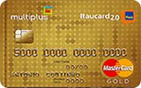 Logo Banco Itaú Multiplus Itaucard 2.0 Gold