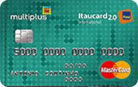 Logo Banco Itaú Multiplus Itaucard 2.0 Internacional