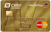 Logo Banco Itaú N Card Itaucard 2.0 Gold
