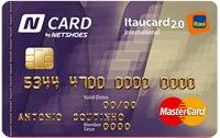 Logo Banco Itaú N Card Itaucard 2.0 International