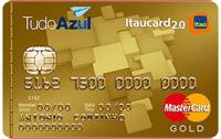 Logo Banco Itaú TudoAzul Itaucard 2.0 Gold Mastercard
