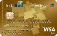 Logo Banco Itaú TudoAzul Itaucard 2.0 Gold Visa