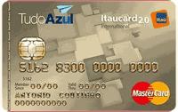 Logo Banco Itaú TudoAzul Itaucard 2.0 International Mastercard