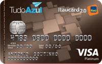 Logo Banco Itaú TudoAzul Itaucard 2.0 Platinum