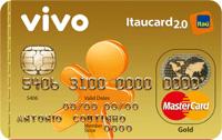 Logo Banco Itaú VIVO Itaucard 2.0 Gold Pós Mastercard
