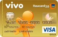 Logo Banco Itaú VIVO Itaucard 2.0 Gold Pré